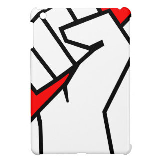 Free Speech Pencil in Fist iPad Mini Cases