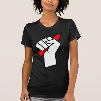 Free Speech Pencil in Fist T-Shirt