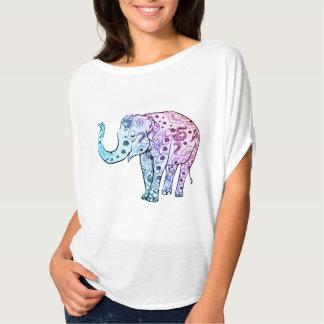 Free spirit Blue Elephant Tee