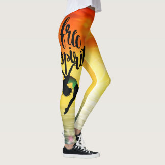 Free Spirit Dancer in the Sun Leggings