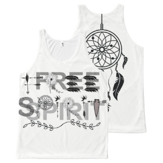 Free Spirit Dream Catcher All-Over-Print Tank Top