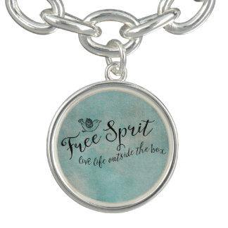 Free Spirit Live Life Outside the box Bracelets