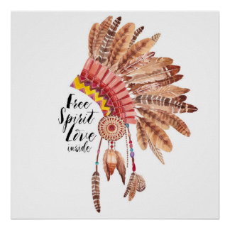 Free Spirit Love Inside Poster