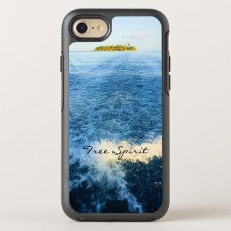 Free Spirit Tropical Maldives Blue Ocean Waves OtterBox Symmetry iPhone 7 Case
