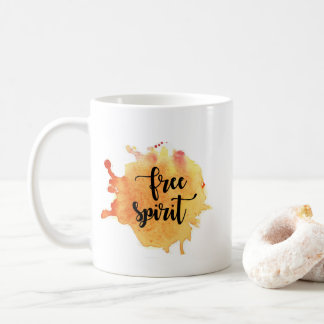 Free Spirit Watercolor mug