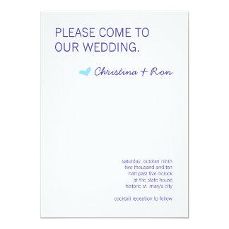 Free Spirit Wedding Invite