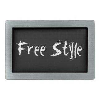 Free Style Belt Buckle