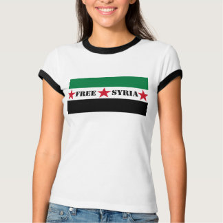Free Syria Flag Ladies' tee