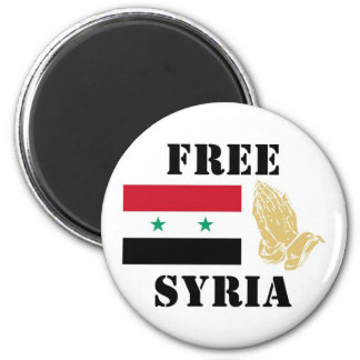 FREE SYRIA MAGNET