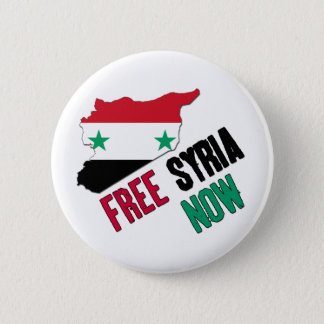 Free Syria Now 2 Inch Round Button