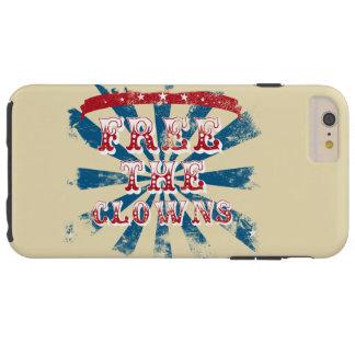 Free the clowns tough iPhone 6 plus case