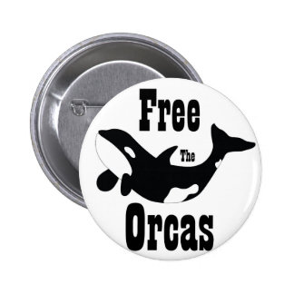 Free The Orcas Buttons