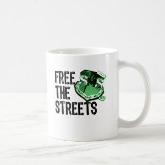 FREE THE STREETS Gadgets Basic White Mug