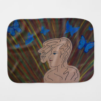 free thoughts burp cloth