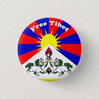 Free Tibet 1 Inch Round Button