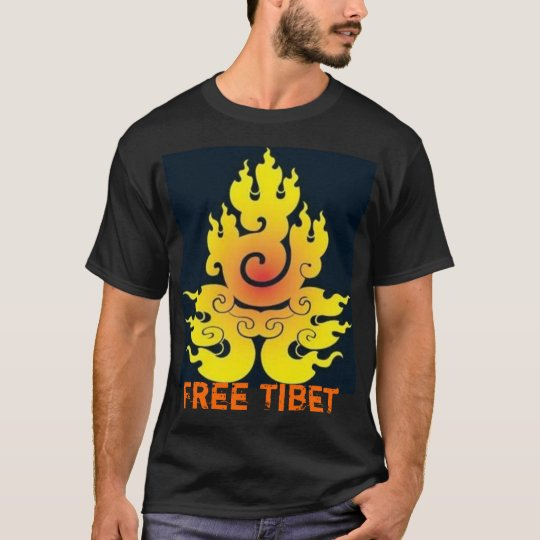Free Tibet Black Shirt