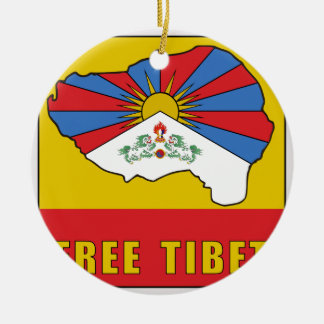 Free Tibet Ceramic Ornament