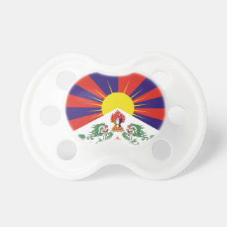 Free Tibet Flag - Peu Rangzen བོད་རང་བཙན་ Baby Pacifiers