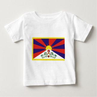 Free Tibet Flag - Peu Rangzen བོད་རང་བཙན་ Baby T-Shirt