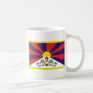 Free Tibet Flag - Peu Rangzen བོད་རང་བཙན་ Coffee Mug