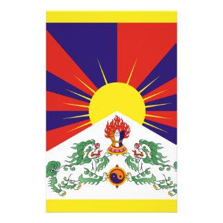 Free Tibet Flag - Peu Rangzen བོད་རང་བཙན་ Stationery