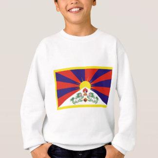 Free Tibet Flag - Peu Rangzen བོད་རང་བཙན་ Sweatshirt