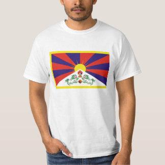 Free Tibet Flag - Peu Rangzen བོད་རང་བཙན་ T-Shirt