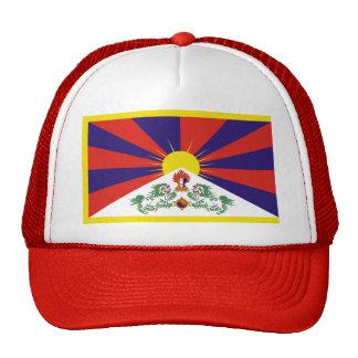 Free Tibet Flag - Peu Rangzen བོད་རང་བཙན་ Trucker Hat