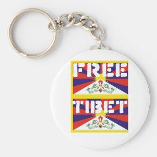 Free Tibet Keychains