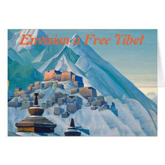 Free Tibet notecard