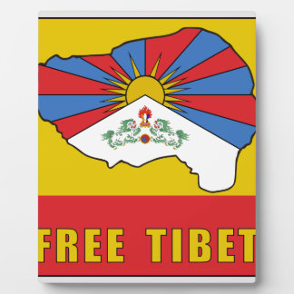 Free Tibet Plaque