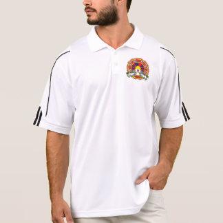 Free Tibet Round Logo Polo Shirt