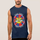 Free Tibet Snow Lions and Independence Slogan Sleeveless Shirt