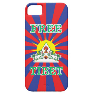 Free Tibet Snow Lions and Sun Symbol iPhone 5 Cover