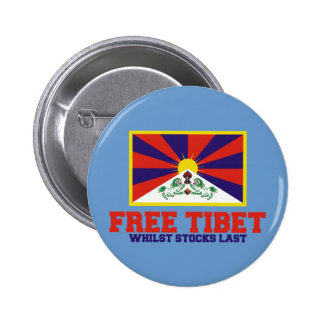 Free Tibet spoof 2 Inch Round Button