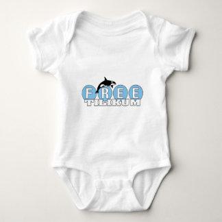 Free Tilikum Baby Bodysuit