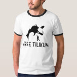 Free Tilikum Save the Orca Killer Whale T-Shirt