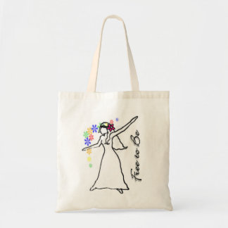 Free to Be: Flowerchild Eco Tote