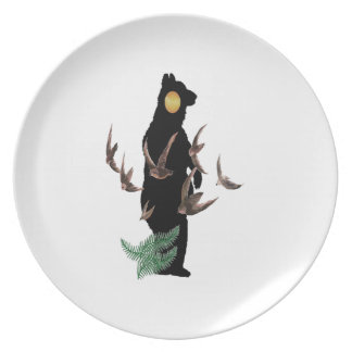 Free to be Wild Plate