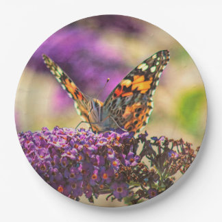 Free To Fly Paper Plate
