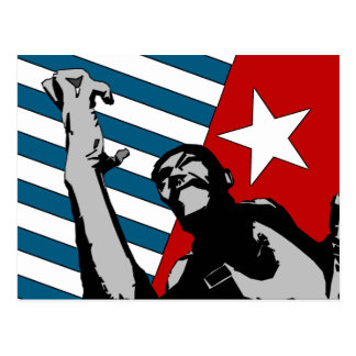 Free West Papua Art Postcard