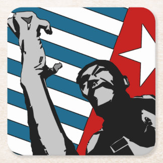Free West Papua Square Paper Coaster