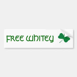 FREE WHITEY BUMPER STICKER