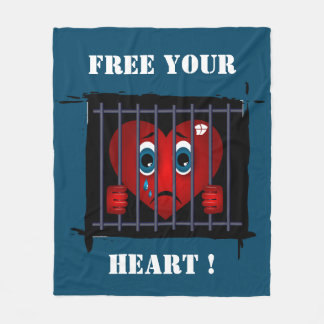Free your heart blanket