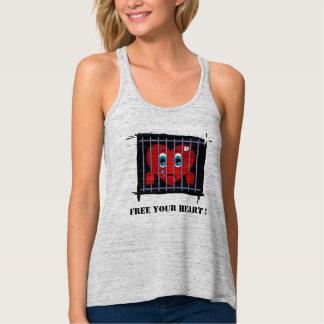 Free your heart Tank Top