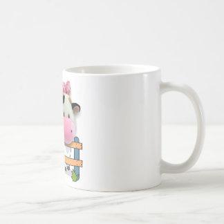 Free Your Mind - Cow Basic White Mug