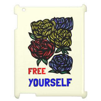 """Free Yourself"" 631 Art iPad Case"