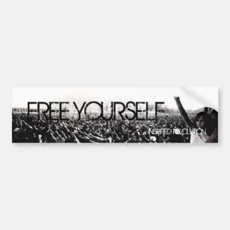 free yourself bumper sticker
