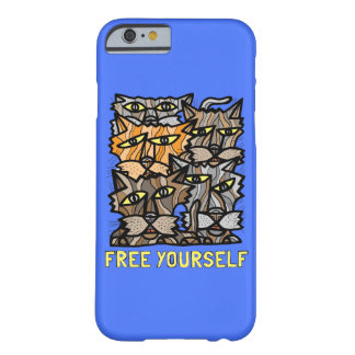 """Free Yourself"" Glossy Phone Case"