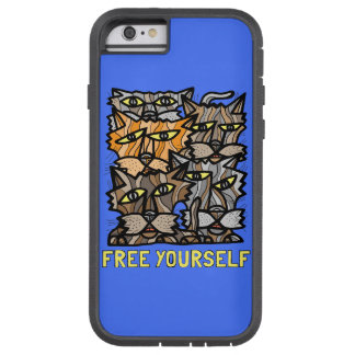 """Free Yourself"" Tough Xtreme Phone Case"